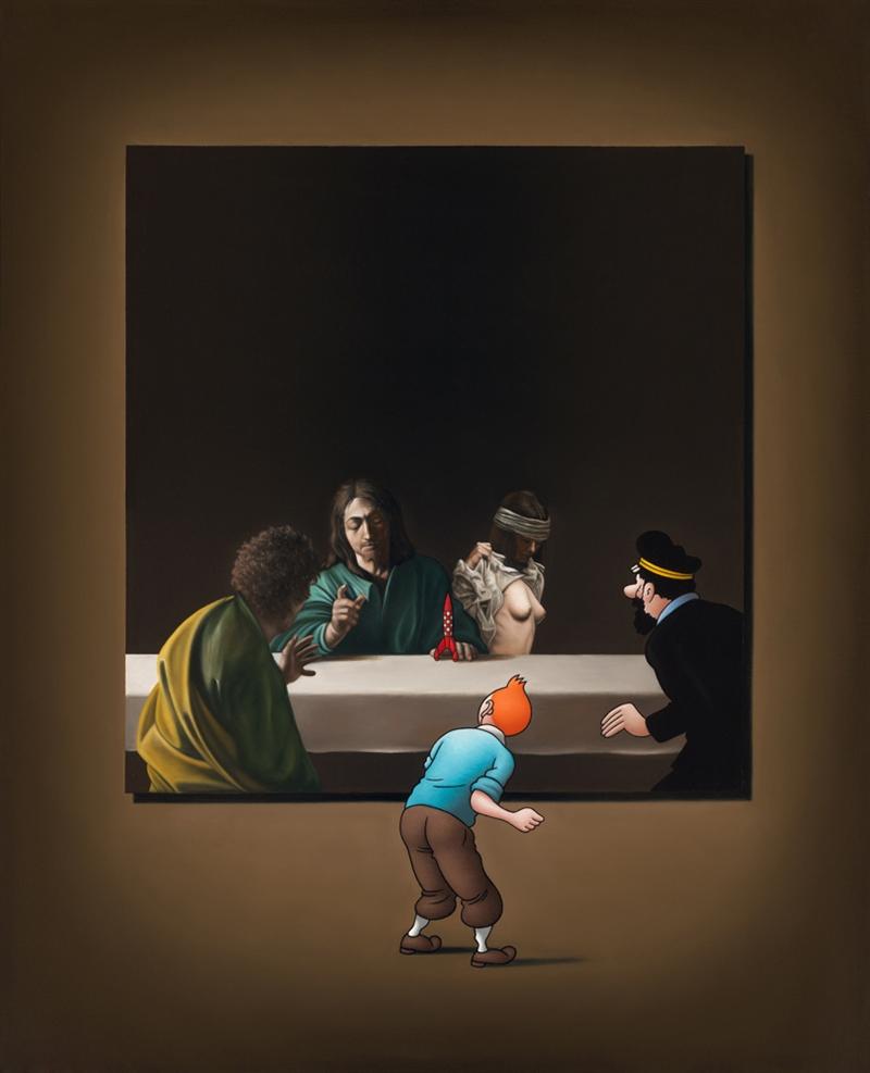 Image of   Caravaggio's Prophet - Ole Ahlberg