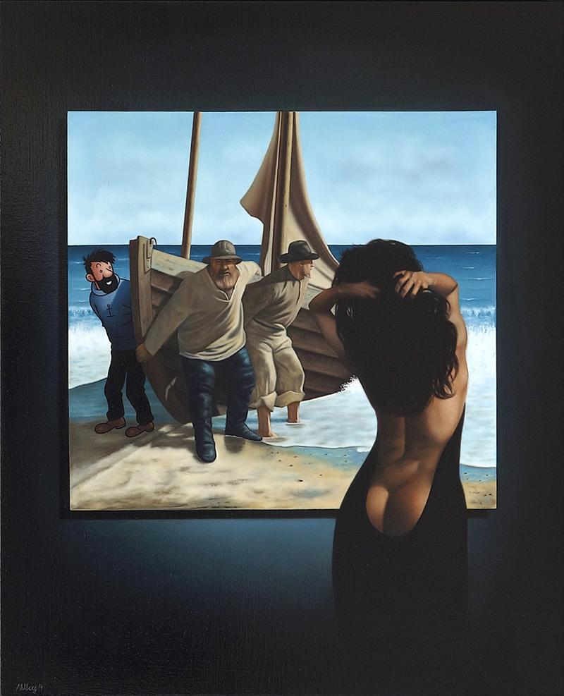Image of   Seascape - Ole Ahlberg