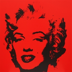 Andy Warhol (after): Golden Marilyn 11.43