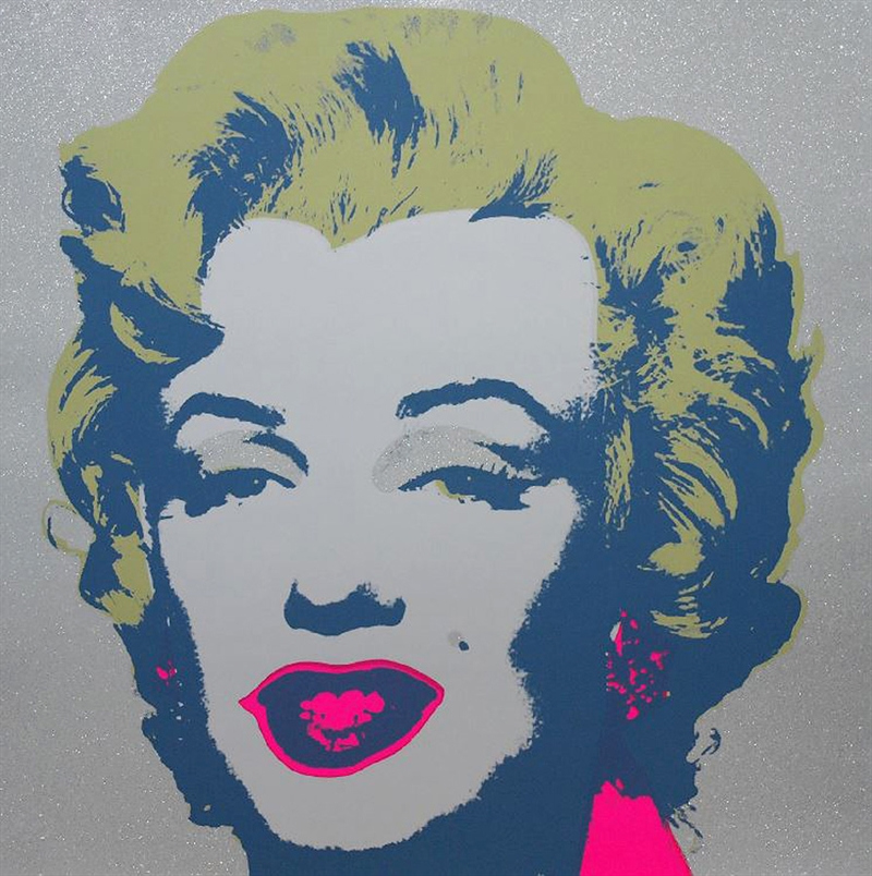 Andy Warhol (after): Diamond Dust Marilyn