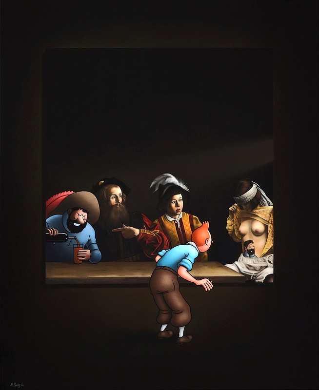 Image of   Caravaggio's Dream - Ole Ahlberg