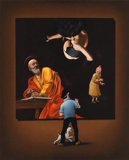Image of   Caravaggio's Angel - Ole Ahlberg
